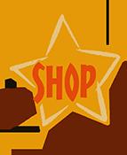 Yellow Star Shop Button