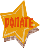 Yellow Star Donate Button
